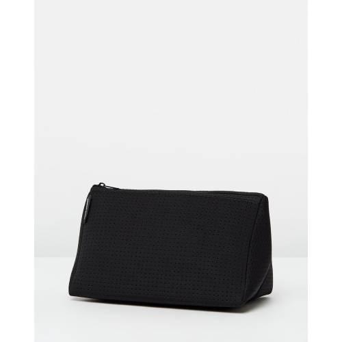 ファッションブランド カジュアル ファッション アクセサリー バッグ 超人気 専門店 黒色 ブラック NEOPRENE COSMETIC 売買 BAG BLACK PRENE レディース