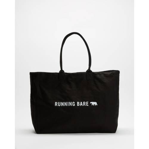 ファッションブランド カジュアル ファッション アクセサリー 黒色 ブラック レディース AMAZING BLACK TOTE BEAR 日本 贈与 BARE RUNNING TOTES