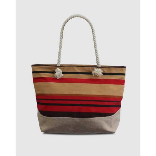 ファッションブランド カジュアル ファッション [宅送] アクセサリー バッグ 赤 レッド 市販 ストライプ STRIPE レディース AND BAG MORGAN RHEMMY TAYLOR RED