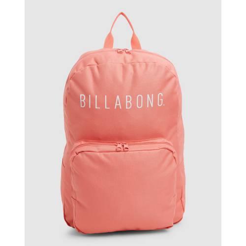 ファッションブランド カジュアル ファッション アクセサリー 人気商品 ビラボン 未使用品 バックパック バッグ リュックサック PINK CORAL BILLABONG ピンク レディース INFINITY BACKPACK