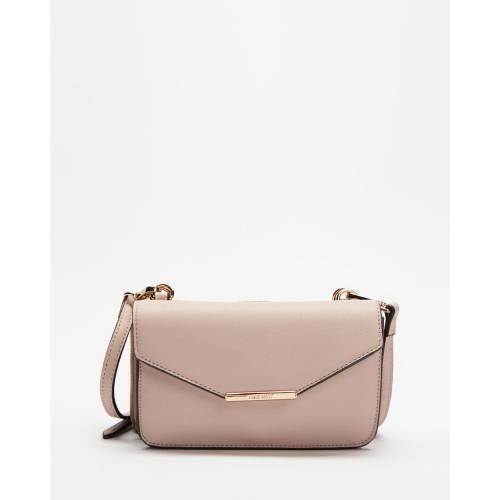 ファッションブランド カジュアル 店内全品対象 ファッション アクセサリー ナインウエスト ピンク レディース PINK SALT PAISLEY NINE CROSSBODY 買取 MINI FLAP WEST
