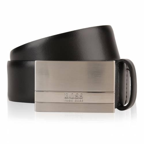 ファッションブランド カジュアル ファッション アクセサリー ボス BOSS ベルト 黒色 捧呈 BLACK 格安 BAXTON サスペンダー 001 ブラック BELT バッグ