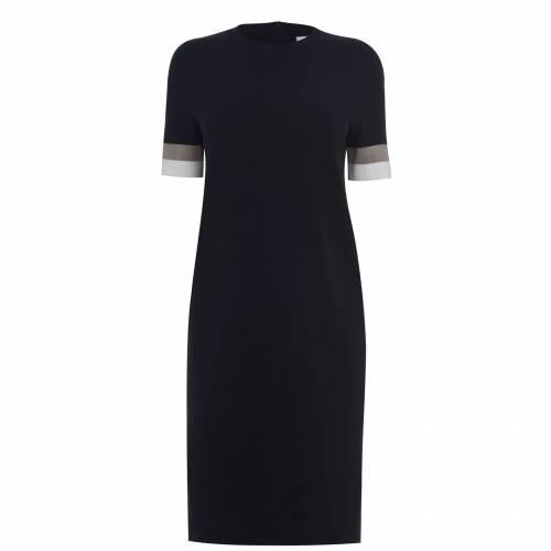 人気ブランド ボス】 BOSS ドレス 紺色 ネイビー レディースファッション【 BOSS DASTRIPED【 DRESS NAVY 466】 レディースファッション ドレス, Reberty:c63baa64 --- blacktieclassic.com.au