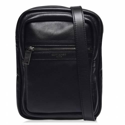 <title>ファッションブランド カジュアル ファッション アクセサリー サンローラン SAINT 日本全国 送料無料 LAURENT フライト バッグ FLIGHT BAG NERO 1000</title>