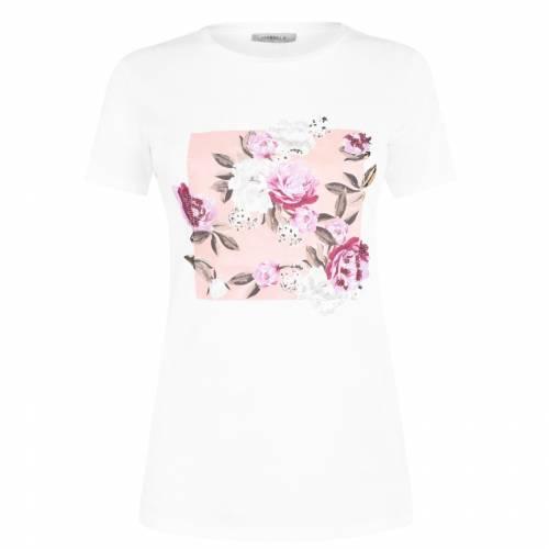 本日限定 ファッションブランド カジュアル ファッション MARELLA Tシャツ 白色 ホワイト TSHIRT WHITE [並行輸入品] トップス レディースファッション BANANA 002