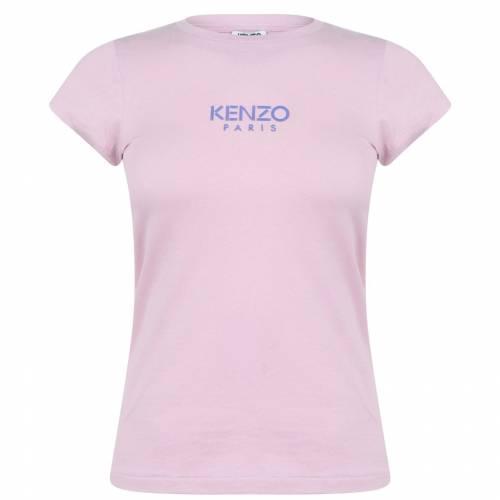 ファッションブランド カジュアル ファッション ケンゾー 贈物 2020 KENZO ピンク PINK T トップス SPORT SHIRT 34 レディースファッション ESSENTIAL