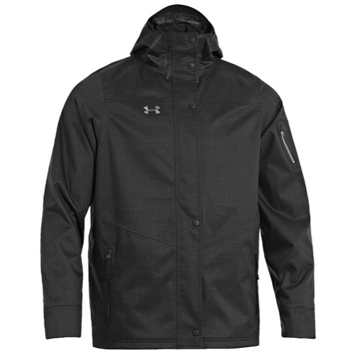 mens black under armour jacket