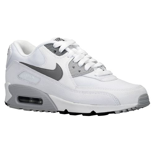 nike air max 90 white and grey