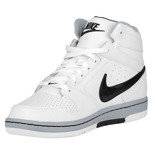 耐克耐克声望声望四高高男装男装白色白色白色黑色黑色和黑灰色的狼灰色灰色灰色运动鞋