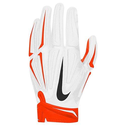 耐克NIKE SUPERBAD 3.0 PADDED垫衬RECEIVERS GLOVES MENS人WHITE白、白TEAM组ORANGE橙、橙子手套