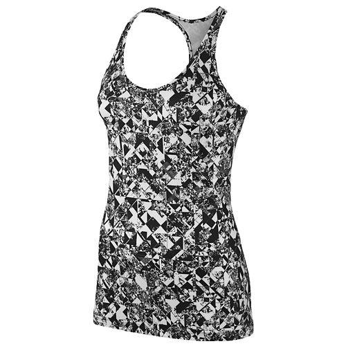 【あす楽商品】(レディース)ナイキ NIKE レディース GET FIT TANK タンクトップ WOMENS レディース WHITE 白・ホワイト BLACK 黒・ブラック VOLT Tシャツ