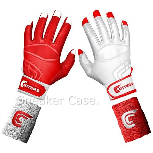 Cutters CUTTERS PRIME COMMAND command YIN YANG BATTING batting GLOVES MENS, mens RED Red Red WHITE white and white accessories