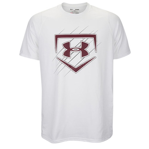 under armour mens baseball shirts