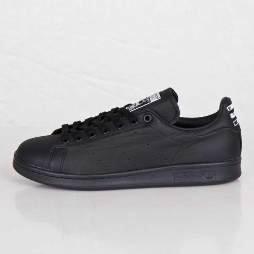 adidas アディダス consortium x pharrell williams ファレル ウィリアムス stan smith スタンスミス solid (ソリッド)(b25387)【海外取寄せ☆レア商品】black【メンズ・男性用】
