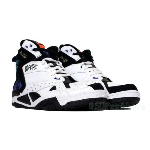 ee63c3a9fe48 reebok  Reebok  blacktop  the black top  battleground  battle ground  ( v55494)white black night beacon grey men