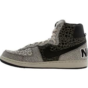 NIKE Nike TERMINATOR terminator HIGH high PREMIUM premium SMOKE BLACK Black  Black LIGHT Nike BONE PEARL Pearl GRAY gray gray Nike 092607b44d