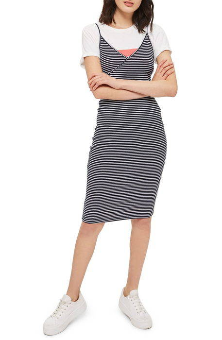 kaia stripe tank dress ストライプ タンクトップ ドレス ワンピース レディースファッション