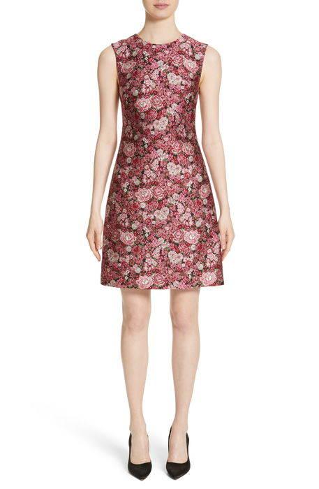 floral brocade dress フローラル ブロケード ドレス ワンピース レディースファッション
