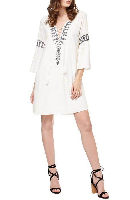 lucie embroidered shift dress ルーシー シフト ドレス ワンピース レディースファッション