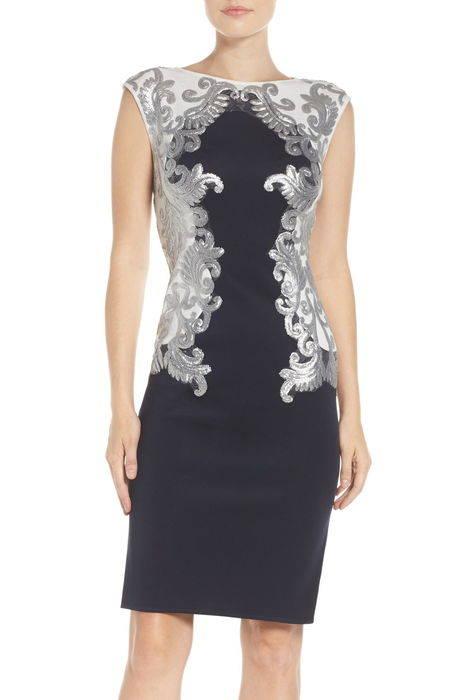 sequin neoprene dress ドレス ワンピース レディースファッション