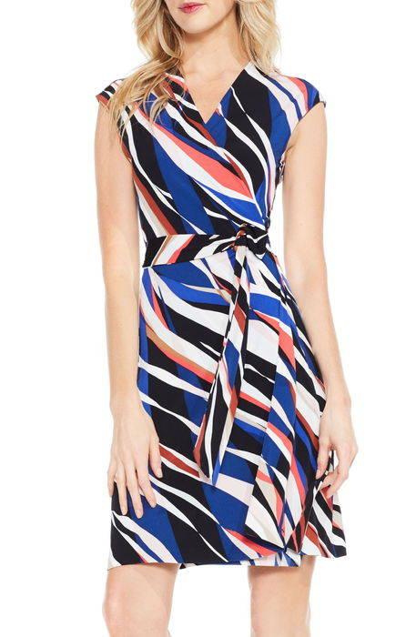 graphic zebra wrap dress グラフィック ゼブラ ラップ ドレス ワンピース レディースファッション