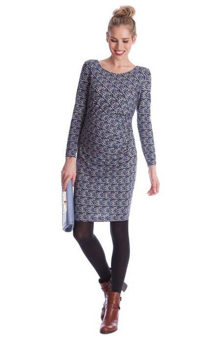 cassie ruched chevron print maternity dress '' シェブロン プリント マタニティ ドレス ワンピース レディースファッション