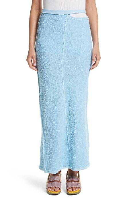 lapped midi skirt ミディ スカート ボトムス レディースファッション