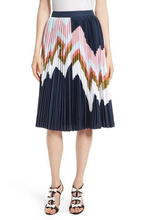 evianna mississippi print pleated skirt ミシシッピ プリント プリーツ スカート レディースファッション ボトムス