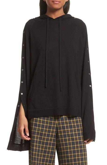 merino wool reversible hoodie メリノ ウール リバーシブル フーディー パーカー セーター レディースファッション トップス ニット