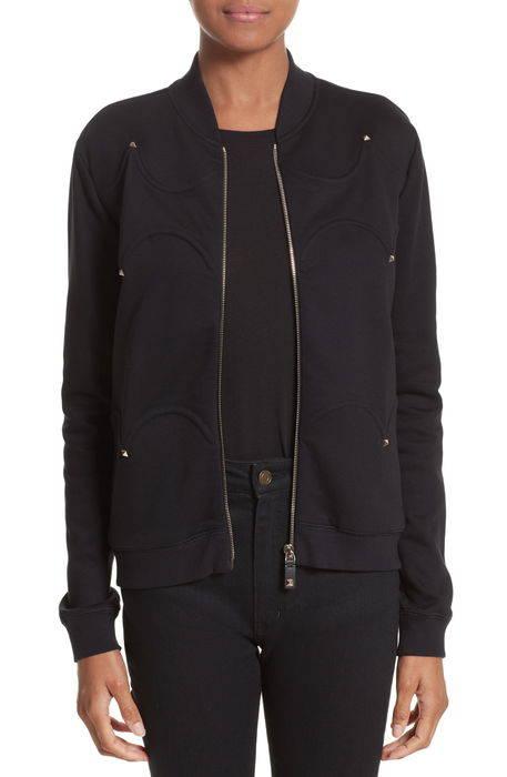rockstud scalloped sweatshirt スカラップ トレーナー スウェット トップス レディースファッション