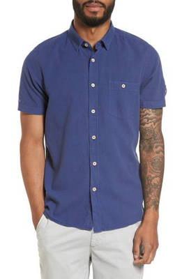 モダン スリム フィット スポーツ シャツ shrwash modern slim fit sport shirt メンズファッション カジュアルシャツ トップス