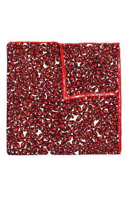 ブライト フローラル シルク ポケット スクエア bright floral silk pocket square チーフ バッグ 小物 ブランド雑貨 スーツ用ファッション小物