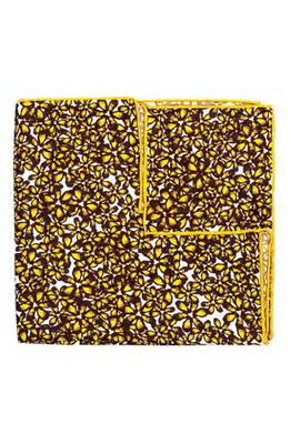 ブライト フローラル シルク ポケット スクエア bright floral silk pocket square スーツ用ファッション小物 バッグ 小物 ブランド雑貨 チーフ