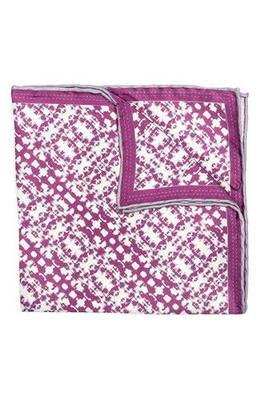 シルク ポケット スクエア batik patterned silk pocket square チーフ スーツ用ファッション小物 ブランド雑貨 バッグ 小物
