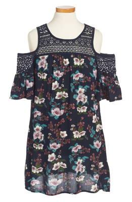ゾーイ ローズ フローラル ドレス ワンピース & zoe rose crochet inset floral dress ベビー マタニティ キッズ