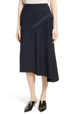 ドレープ ミディ スカート delmont draped midi skirt ボトムス レディースファッション