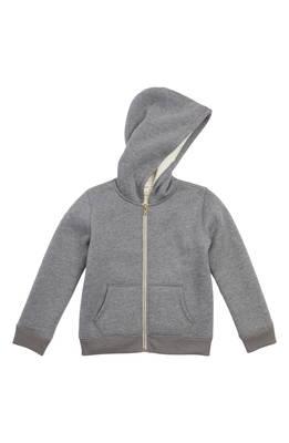 ジップ フーディー パーカー plush lined zip hoodie トレーナー キッズ ベビー スウェット マタニティ トップス