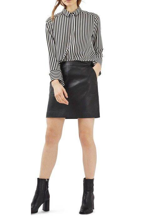 レザー ペンシル スカート faux leather pencil skirt ボトムス レディースファッション