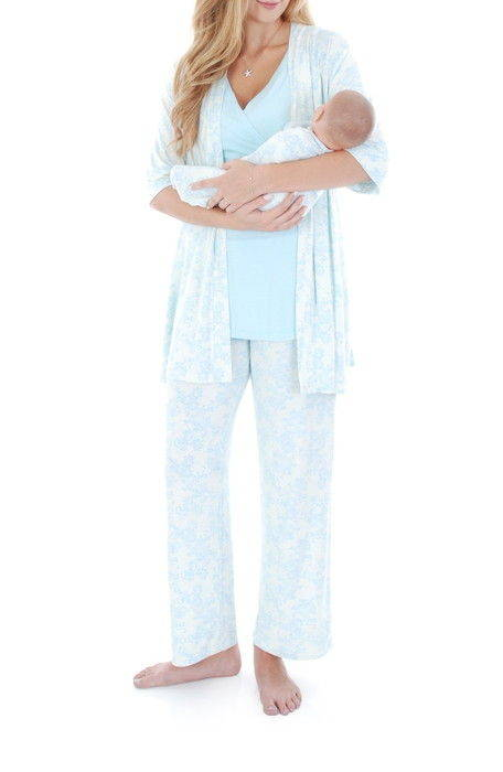 roxanne during after 5piece maternity sleepwear set & アフター マタニティ セット 下着 インナー ナイトウエア ルームウエア パジャマ レディースナイトウエア