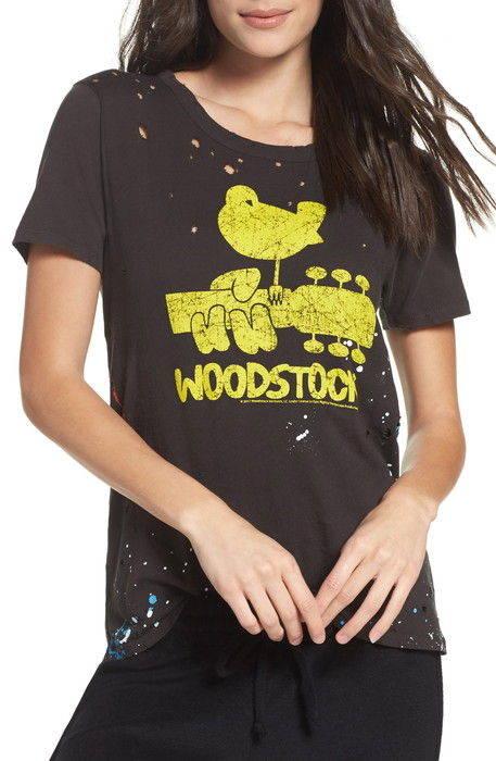 woodstock lounge tee t ウッドストック ラウンジ シャツ ルームウエア ナイトウエア 下着 レディースナイトウエア パジャマ インナー