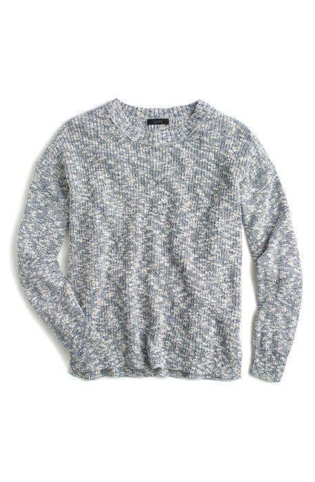 jcrew oversize marled yarn sweater j.crew オーバーサイズ セーター ニット トップス レディースファッション