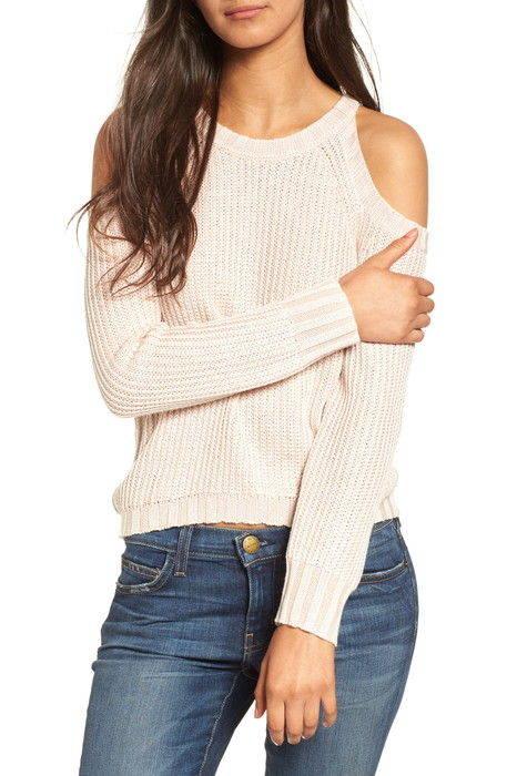 ミカ コールド ショルダー セーター mika cold shoulder sweater ニット レディースファッション トップス