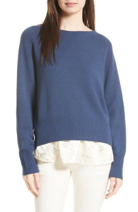 ボート ネック カシミヤ セーター boat neck cashmere sweater レディースファッション ニット トップス