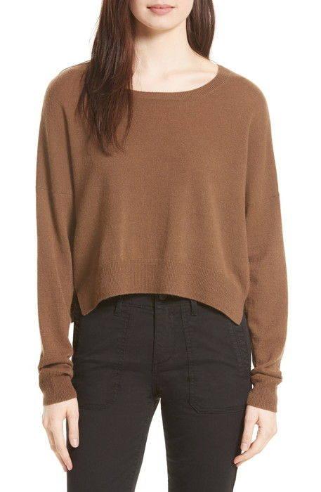 crop cashmere sweater クロップ カシミヤ セーター レディースファッション トップス ニット