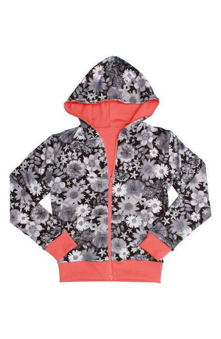 duo reversible zip hoodie デュオ リバーシブル ジップ フーディー パーカー キッズ ベビー マタニティ スウェット トップス トレーナー