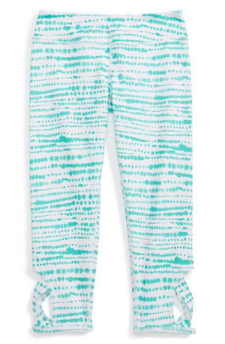 print keyhole crop leggings プリント キーホール クロップ レギンス パンツ 靴下 スパッツ ベビー キッズ タイツ マタニティ