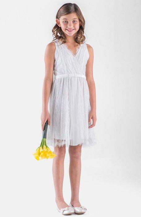 lace sleeveless wrap dress レース ノンスリーブ ラップ ドレス ワンピース ベビー キッズ マタニティ