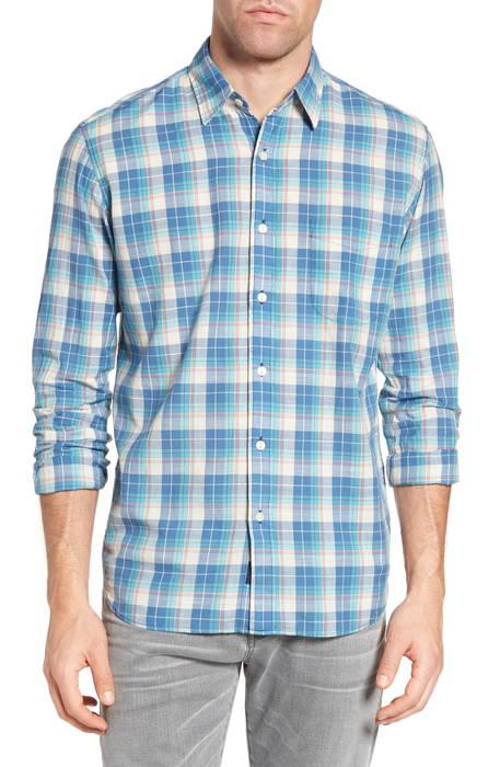 ventura plaid sport shirt スポーツ シャツ メンズファッション トップス カジュアルシャツ