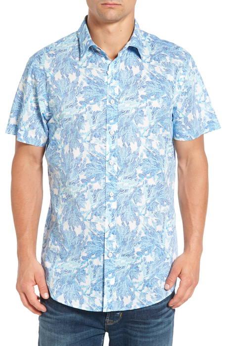 makarora regular fit print sport shirt レギュラー フィット プリント スポーツ シャツ トップス メンズファッション カジュアルシャツ
