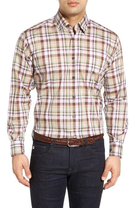 anderson classic fit sport shirt アンダーソン クラシック フィット スポーツ シャツ カジュアルシャツ メンズファッション トップス